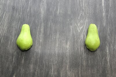 Tapeta Vegetable chayote green squash fresh, natural raw, ready to cut and cook, very nutritious and dithetical