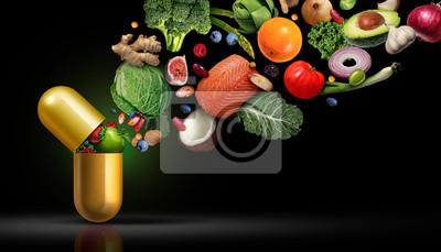 Tapeta Vitamins Supplements Nutrition