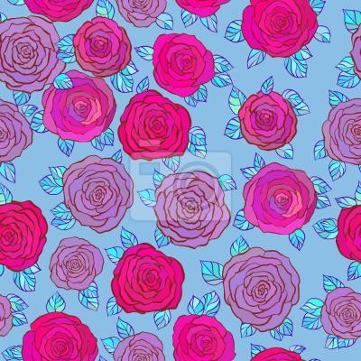 Tapeta W niebie Róża