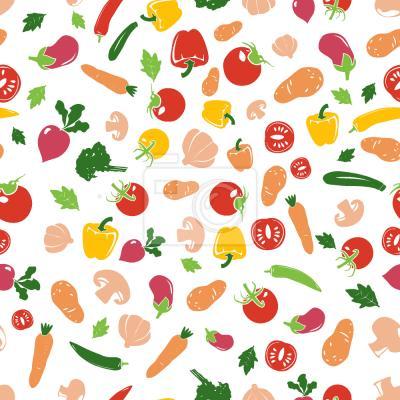 Tapeta Warzywa świeże