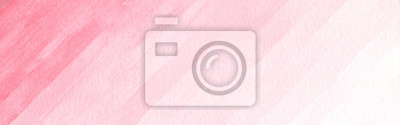 Tapeta Watercolor background texture soft pink. Abstract pink tones.