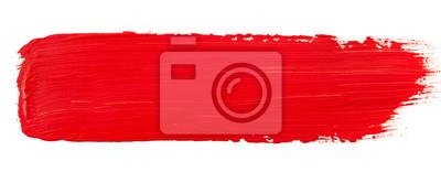 Tapeta Watercolor red paint