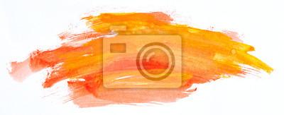 Tapeta Watercolour paint strokes