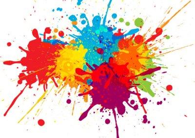 Tapeta Wektor kolorowy wzór tła. ilustracji wektorowych projektowania