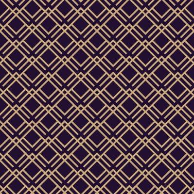 Tapeta Wektor wzór. Nowoczesna stylowa tekstura. Powtarzające się tło geometryczne. Liniowy projekt graficzny.