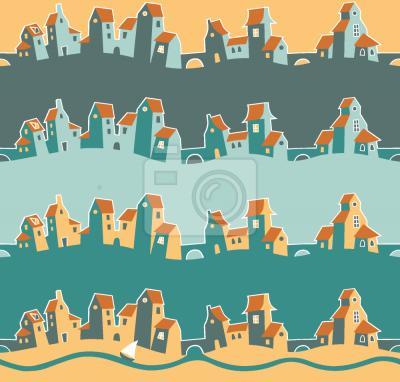Tapeta Wesoły Miasto