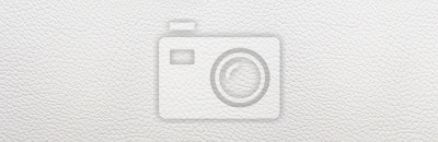 Tapeta White leather background. Panorama.