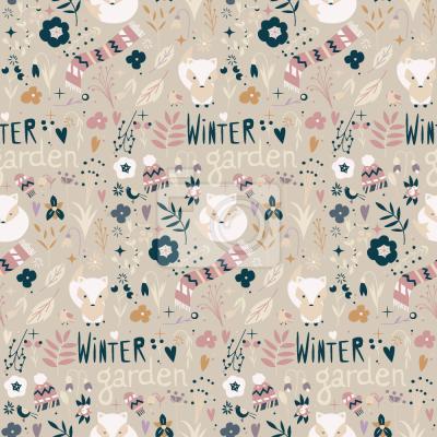 Tapeta Winter Fox