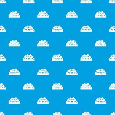 Tapeta Wodospad wzór bez szwu niebieski