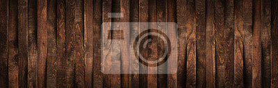 Tapeta Wooden rustic brown planks texture vertical background