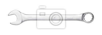 Tapeta Wrench isolated on white background, hand tool