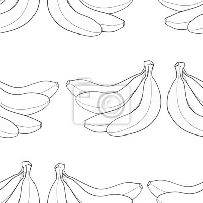 Wspaniały ogród - Banany w tle