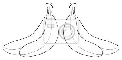 Wspaniały ogród - Bunch of Two bananów