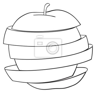 Wspaniały ogród - Plastry jabłek 2
