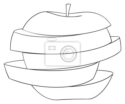 Wspaniały ogród - Plastry jabłek 3
