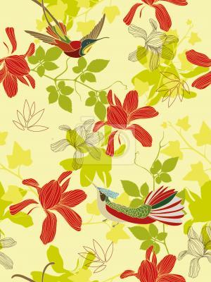 Tapeta Wyspa Ptaków Rajskich