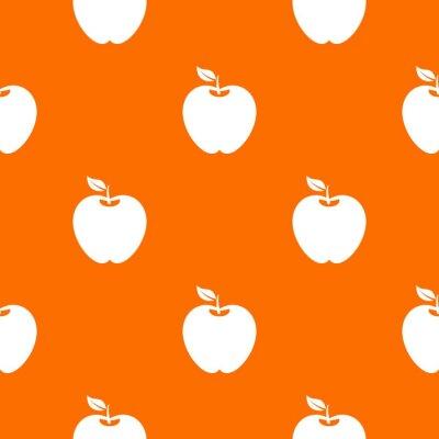 Tapeta Wzór Apple bez szwu