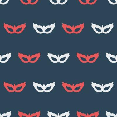 Tapeta Wzór kolorów z maskami