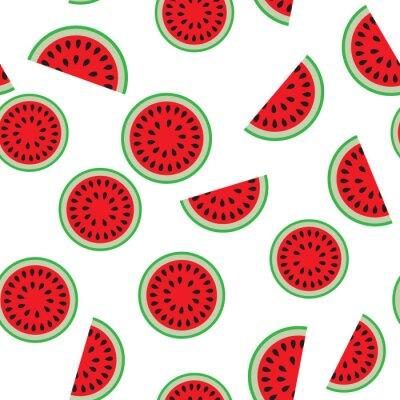 Tapeta Wzór melon wody.