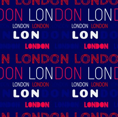 Tapeta Wzór miasta Londyn, projekt do druku i mediów.