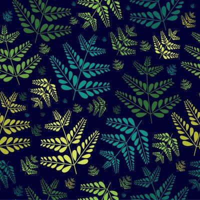 Tapeta Wzór tropikalny liści
