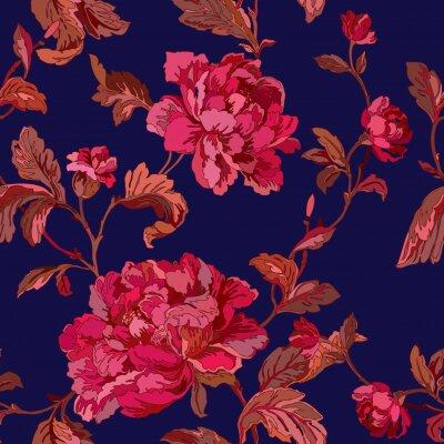 Tapeta Wzorzec kwiatów róży