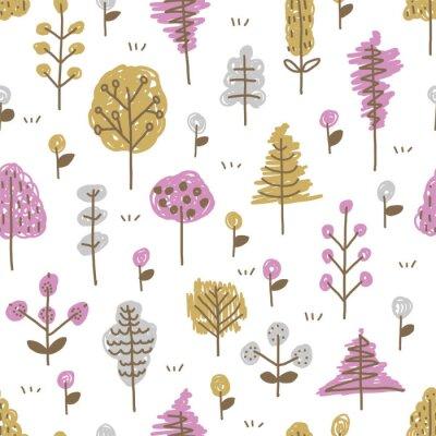 Tapeta 木々のパターン / シームレス