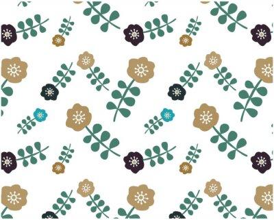 Tapeta 花柄 北欧風 パターン 背景 花