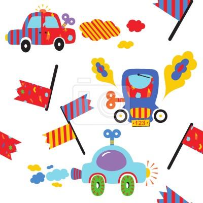 Tapeta Zabawkowe samochody