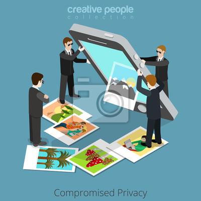 Tapeta Zagrożona Koncepcja Prywatności środki Specjalne Wytrząsnąć