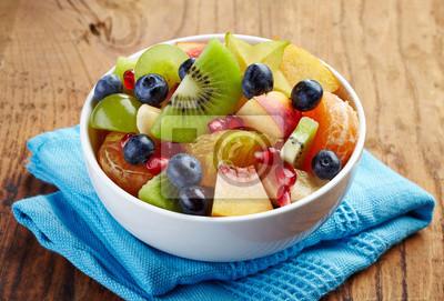 Zdrowych sałatka owocowa