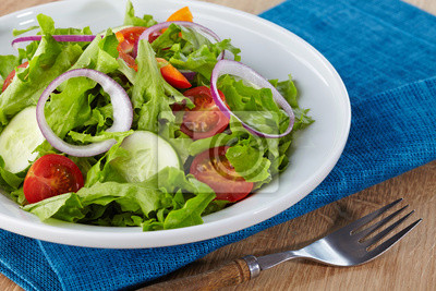 Zdrowych sałatka z warzyw