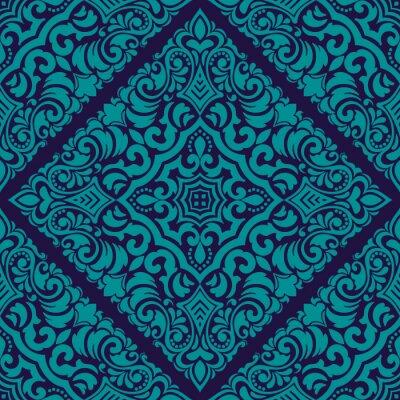 Tapeta Zentangle w stylu element geometryczny ornament ozdoba. Orient tradycyjny ornament. Boho w stylu. Abstrakcjonistyczny geometryczny bezszwowy deseniowy elegancki element dla kart i zaproszeń.