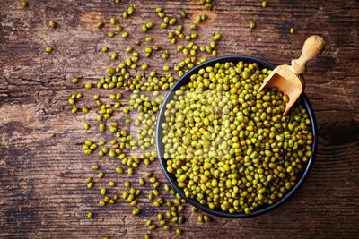 Zielone fasoli mung