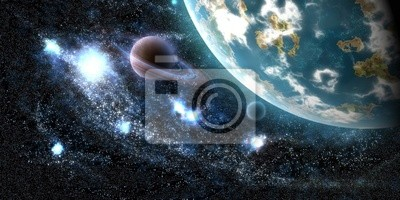 Tapeta Ziemia Planeta Kosmos Galaktyki Astronomia Gwiazda Tło