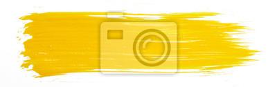 Tapeta Żółta farba