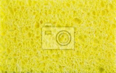 Tapeta żółta gąbka