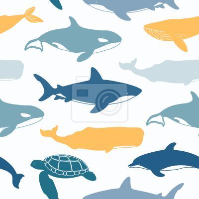 Tapeta zwierzeta morskie